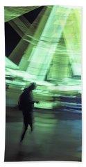 Beach Towel featuring the photograph Oblivion by Alex Lapidus