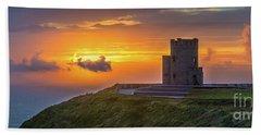 O'brien's Tower - Ireland Beach Towel