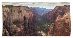 Observation Point - Zion Beach Towel