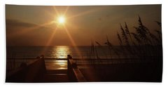 Obx Sunrise Beach Towel