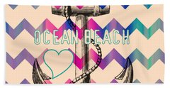 Pacific Ocean Beach Towels