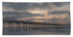 Ocean Beach Pier San Diego Ca Beach Towel
