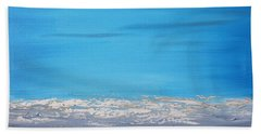 Ocean Blue 3 Beach Towel
