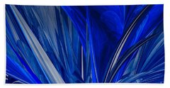 Beach Sheet featuring the photograph Ocean Blue by Geraldine DeBoer
