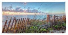 Beach Towel featuring the photograph Ocean Blues by Debra and Dave Vanderlaan