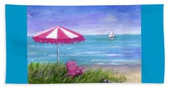 Ocean Breeze Beach Towel by Sandra Estes