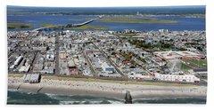 Ocean City Boardwalk 2 Beach Towel by Dan Myers