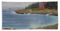 Ocean Cottage Beach Towel