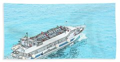 Ocean Cruise Beach Towel