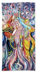 Ocean Dance Beach Towel by Harsh Malik