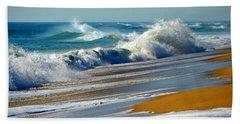 Ocean Delight Beach Sheet by Dianne Cowen