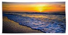 Ocean Drive Sunrise Beach Towel