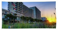 Ocean Drive Sunrise North Myrtle Beach Beach Towel
