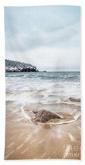 Ocean Flows Beach Towel