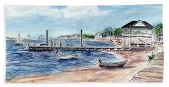 Ocean Gate Boardwalk Beach Towel