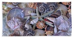 Ocean Gems 11 Beach Sheet by Lynda Lehmann
