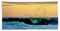Ocean Power Beach Towel