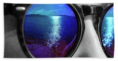 Ocean Reflection Beach Towel