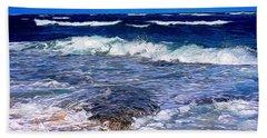 Ocean Scene In Abstract 14 Beach Towel