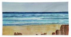Ocean Scene Beach Towel