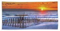 Ocean Sunrise From The Dunes Beach Towel