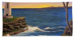 Ocean Sunrise Beach Towel