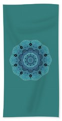 Ocean Swell Abstract Painting By V.kelly Beach Towel