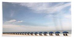 Ocean View Beach Sheet by Nicki McManus