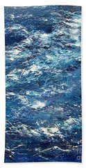 Ocean's Blue Beach Towel