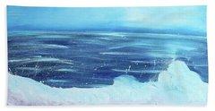 Oceans Fall Beach Towel