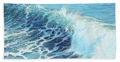 Ocean's Might Beach Towel