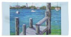 Ocracoke Harbor Beach Sheet