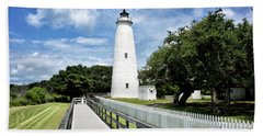 Ocracoke Light Beach Towel