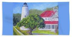 Ocracoke Lighthouse Beach Sheet