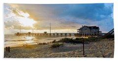 October 3 2016 Obx Sunrise Beach Towel