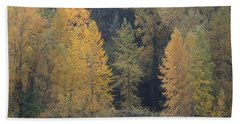 Beach Towel featuring the photograph October Fiesta by I\'ina Van Lawick