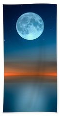 October Moon Beach Towel