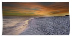 October Night Beach Towel