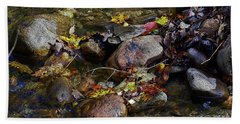 October Puddles Beach Sheet
