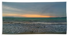 Beach Towel featuring the photograph October Sunrise by Anne Kotan