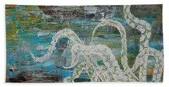 Octopus Of The Deep Beach Towel