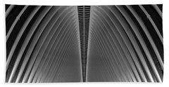 Oculus World Trade Center  Beach Towel