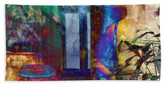 Ode On Another Urn Beach Towel by LemonArt Photography