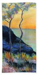 Ode To Monet Beach Towel by Jodie Marie Anne Richardson Traugott          aka jm-ART