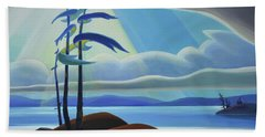 Ode To The North II - Center Panel Beach Towel