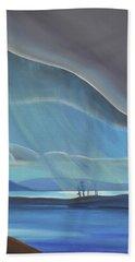 Ode To The North II - Rh Panel Beach Towel