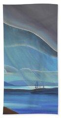 Ode To The North II - Rh Panel Beach Sheet