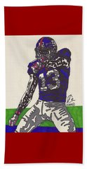 Odell Beckham Jr  Beach Sheet by Jeremiah Colley