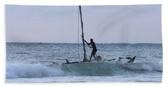 Off Fishing Beach Towel