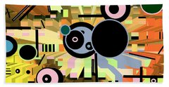 Beach Sheet featuring the digital art Off The Grid 66 by Lynda Lehmann